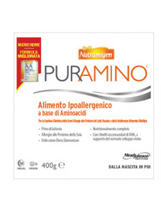 NUTRAMIGEN PURAMINO BARATTOLO 400 G