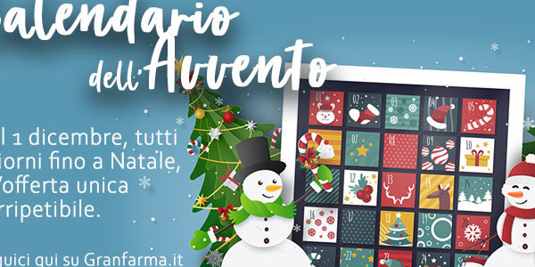 Il Calendario dell'Avvento di Granfarma.it